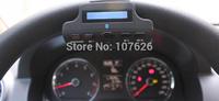 Slim steering wheel Bluetooth Car Kit Bluetooth car Bluetooth hands-free phone mp3 speaker 5 languages