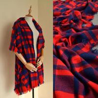 A long scarf shawl dual British-style female thick warm plaid scarf