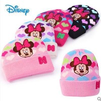 5PC/lot  Fashion cartoon Mickey Minnie Kid's children's  cap hat  fit for 2-12 year old