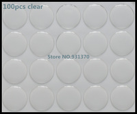 "100PCS Clear Round Epoxy Domes Resin Self Adhesive Stickers Cabochon 25mm Dia.(1"") 3D DOME CIRCLE STICKERS"