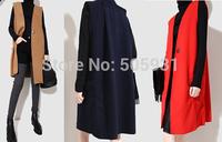 Unique Design Fold Back Collage Vest Winter Autumn Spring Wearing