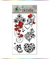 """Free Shipping """"Lovely Heart"""" Temporary Tattoo Body Art Tattoos"""