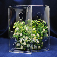 For ASUS ZenFone 4.5 A450CG  high quality PC Ultra-thin hard  transparent back cover case  , MOQ:1pcs . wholesale