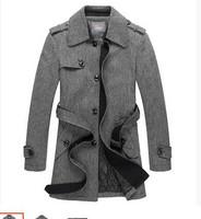 man's  men's  spring autumn winter  30% wool sweater coat jacket outwear