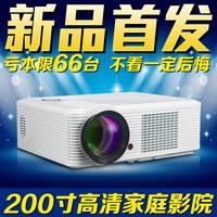 HD home projector 5200 Lumens 1080p 3D HD LED projector mini projector