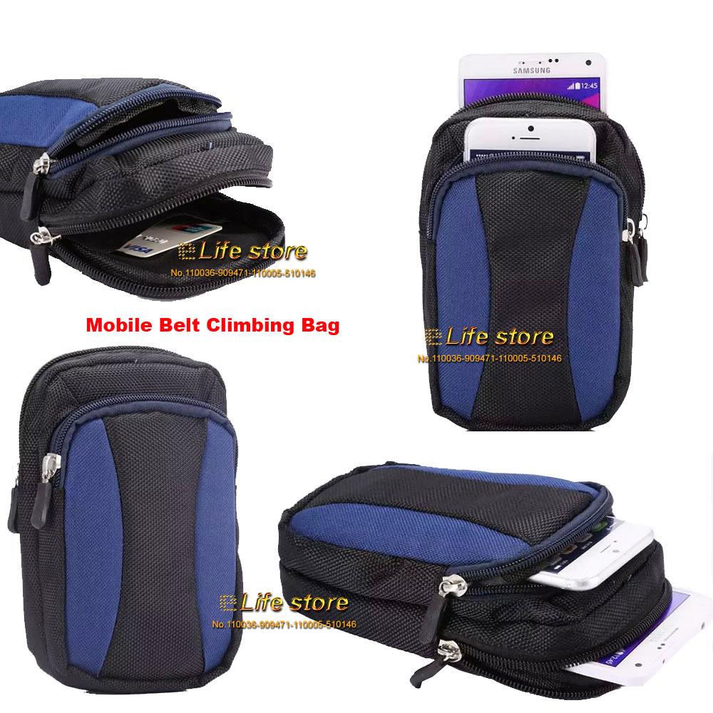 Climbing Outdoor Sport Bag Mobile Phone Case Bag Belt Clip Case Waist Bag For Samsung Galaxy Express II G3815(China (Mainland))