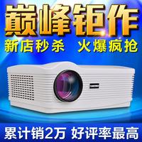 HD 3D  mini projector LED projector 1080P 5200 Lumens 1280*800 10000:1 projector