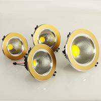 2014 Best 5W/7W/9W/12W Newest Super Brightness Cool White/Warm White COB LED Ceiling Light