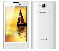 Original Cheap Leagoo Lead 4 MTK6572 Dual Core Android 4.2 4.0inch 512MB 4GB 2.0+3.0MP Camera Smartphone White/Black Free Ship