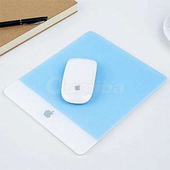 Acrylic Plexiglass Matte Surface Glass Mouse Pad Computer Laptop PC Mouse Mat For Apple Macbook Mousepad(China (Mainland))