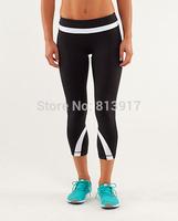 2014 NEW Hot Top quality lulu Yoga dance studio pants loose women pants size:2(XXS)-12(XL) gym wear with liner Szie XXS-XL