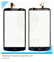 Original Black Touch screen for Lenovo S920 Cell Phone touch panel digitizer (without LCD display) Free shipping