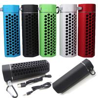 Sport Wireless Bluetooth Portable Stereo AUX Speaker+Mic Hook TF for Smartphone Samsun