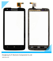 Original Black touch panel Lenovo S750 touch screen digitizer replacement for Lenovo S750 phone free shipping + tracking code