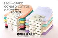 New  Autumn Spring Bamboo fiber  girls'Socks & Hosiery for women Fashion Ladies mid-calf sock 20pcs/lot Whole sale free shipping