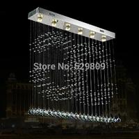 Free shipping hot sales CC design crystal chandelier luster crystal light for dinning room or bar lighting