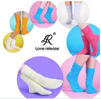 New  Autumn Spring 100% cotton girls'Socks & Hosiery for women Fashion Ladies mid-calf sock 30pcs/lot Whole sale free shipping