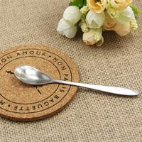 Stainless steel coffee cup small spoon tableware coffee dessert spoons