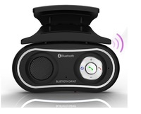 New Mini Steering Wheel Mount Bluetooth MP3 FM Handsfree Car Kit With Caller ID Display Freeshipping wholesale dropshipping