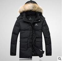New arrival men's down jacket  down parka keep warm top quality men parkas pluse size S-XXXL Free shipping