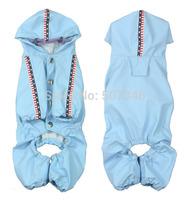 New Fashion Small Dog Heavy Duty Raincoat Dog coat Pet Raincoat 4 Color