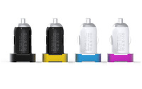 Free Shipping High quality Mini USB Car Charger for iPhone 6 iPad GPS for samsung htc Smart Phones with Retail Box DL-211