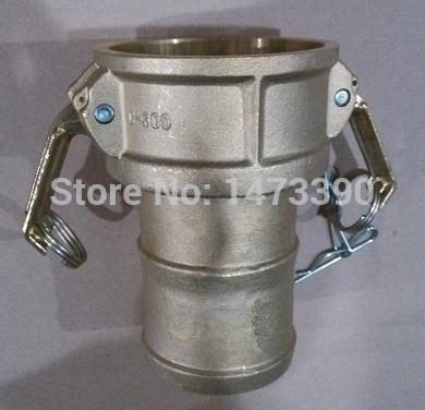 "Camlock Type C Coupler, Brass , 3"" , Hose Shank(China (Mainland))"