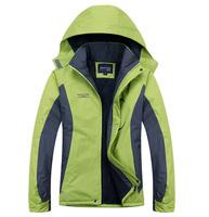 2014 autumn winter softshell jacket women windproof waterproof christmas casual ski jacket brand coolmax climbing fleece jacket