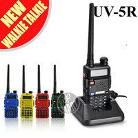 FS! BaoFeng UV-5R Walkie Talkie Two Way Radio Dual Band 136-174Mhz&400-520Mhz Transceiver Interphone UV5R Free Earphone 4Pcs/lot