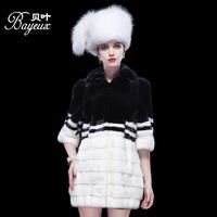 2014 new mink mink coat female mink import whole genuine fur mink fur coat