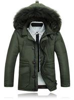 New Brand Winter Warm Jacket Men Coat Thicken Outerwear The North Hoodie Jacket Outdoor Hoody Duck Down Jacket Men's Parka Coat