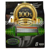 Free Shipping High Quality  hot Grade AAA 16P/L Men's Razor Blades Power sharpener shaving razors series blades Retail packaging