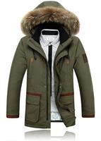 New Style Winter Warm Jacket Men Coat Thicken Outerwear The North Hoodie Jacket Outdoor Hoody Duck Down Jacket Men's Parka Coat
