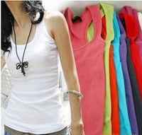 M1Free Shipping Summer hot selling shapers body women cotton shirt women's cheap sarafan tank Tops long sport plus size corsets