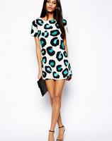 S1Hot Sale!! 2014 New Casual Dress Stripe Summer Dress,Women Dress,Fashion Women Sexy mini Dress B8 SV002