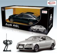 Wholesale Black Silver RSASTAR Au di A6L 1:14 Remote Control car Model Car Children Control Toy Gift 42100