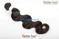 Qingdao hair supplier cheap price unprocessed natural color 7A body wave virgin brazilian hair