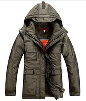 Free shipping men winter down coat ,Men's Down Jackets Waterproof Coat Warm Jacket Men Winter Outwear 200