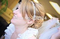 Original Design Clear Crystal Bridal Headpiece Europe Style Luxury Hairband For Wedding