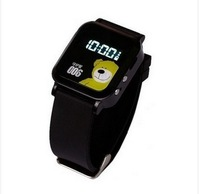 New Arrivals Y26 Children Kids GPS GSM GPRS Tracker Watch Double Locate Remote Monitor SOS Black