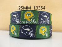 50Y13354 david ribbon free shipping 1'' printed ribbon Grosgrain ribbon for packing and bow garment accessoires
