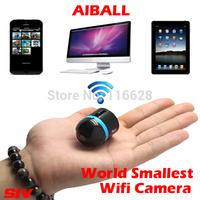 Free shipping SIV AI BALL hot sell spy mini size protable wifi camera