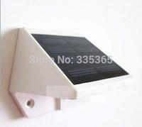 6pcs  X waterproof IP67 ABS led solar lamps 0.3w for outdoor garden door