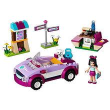 Hot sale Friends Series Emmas Sports Car Building Block Assemble toys the b
