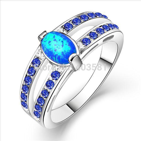get cheap blue opal rings aliexpress