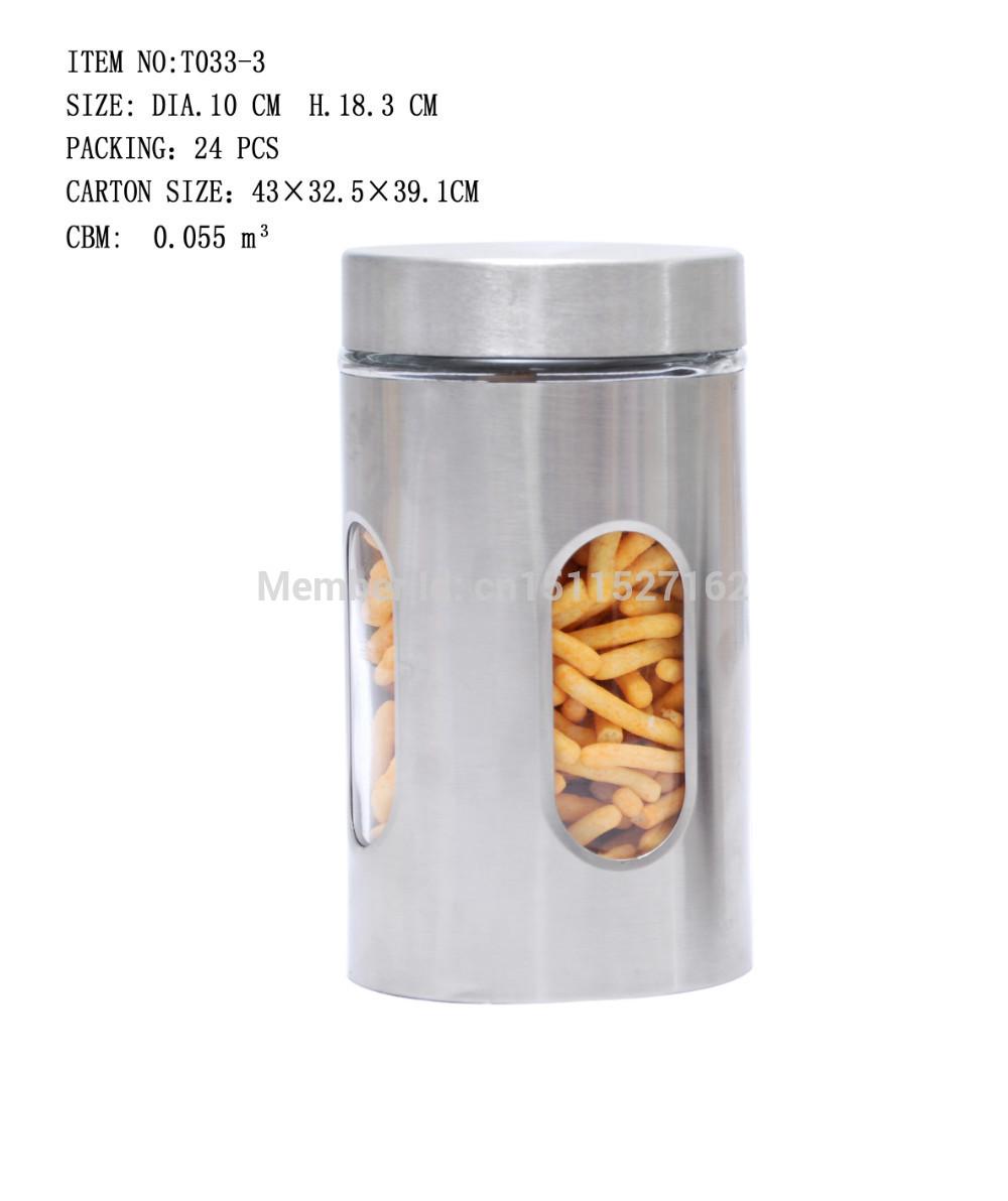 Glass storage jars(China (Mainland))