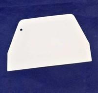 Hot selling !!!  Cake Tool  Kitchen Cutter Design Butter Scraper Trapezoidal Flat Scraper Free shipping  01059