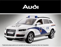 RSASTAR Audi Q7 1:14 Simulation Model Car Remote Control Car Police Car Version 27410