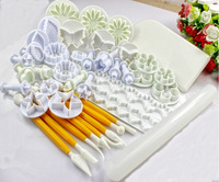 Hot selling ! fondant cake decoration cake tools 47 pcs mixed fondant plunger cutters and tools 01109