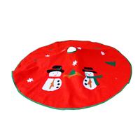 Christmas decorations Christmas tree skirts, Christmas tree skirt-grade non-woven fabric applique Christmas tree skirt